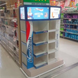 EXHIBIDOR AQUAFRESH 2