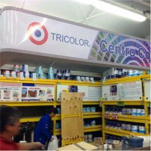 CENTRO DE COLOR TRICOLOR