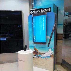 EXHIBIDOR GALAXY NOTE 8